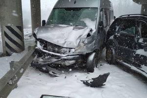 ДТП на трассе Киев-Чоп: пострадали шестеро пассажиров из города Сумы
