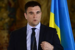 Klimkin said his words about sanctions against shredder