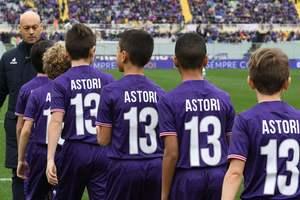 Сборная Италии сыграет два матча в футболках в память об Астори
