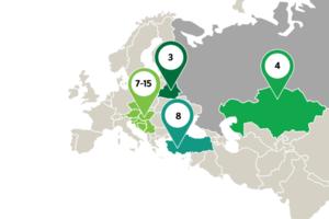 """Российский """"Сбербанк"""" показал карту с украинским Крымом"""