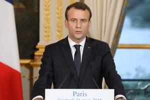 Макрон не поздравил Путина, но напомнил о целостности Украины