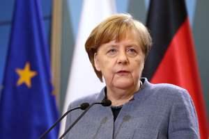 Меркель отправила Путину телеграмму с поздравлениями