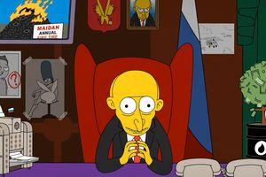 """На YouTube появилось видео-пародию """"Еще 6 лет Путина"""" в стиле """"Симпсонов"""""""