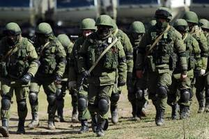 The Russian military began exercises in the annexed Crimea