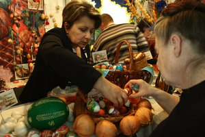 Easter close: Ukraine has already take off the price of eggs