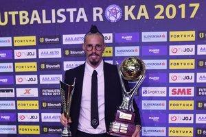 Марек Гамшик в седьмой раз признан лучшим футболистом Словакии