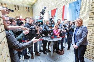 Министр юстиции Норвегии ушла в отставку из-за публикации в Facebook