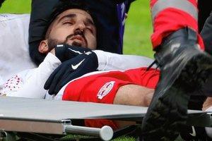 """Нападающий """"Зальцбурга"""" на несколько минут потерял сознание во время матча"""