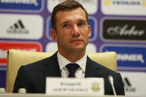 Video stream press conference of Andriy Shevchenko