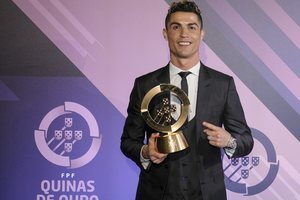 Cristiano Ronaldo voted best player in Portugal