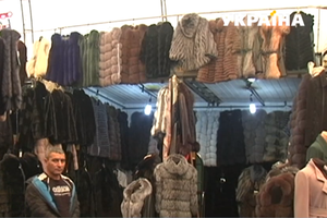 In Ukraine sell fur coats: sellers said the reason for the low prices