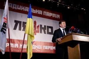 The analyst: the Emergence of Oleg Lyashko in second place in the rankings is no coincidence