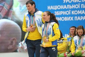 Возвращение героев: как в аэропорту встречали паралимпийскую сборную Украины