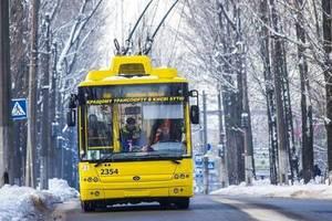 В Киеве введено оперативное положение на всех маршрутах общественного транспорта