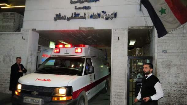 4 человека погибли при ракетном обстреле Дамаска