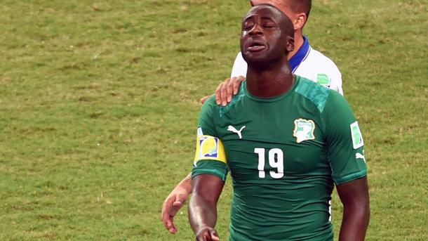 ЯяТуре неотреагировал навызов всборную Кот-д'Ивуара