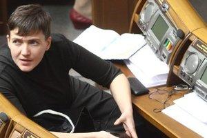 Снять неприкосновенность с Савченко могут завтра, ГПУ представит доказательства