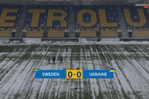 The Ukraine national team played a draw with Sweden in the selection for Euro 2018