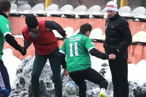 Franz won the first match under the leadership of Alexander Aliyev