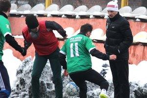 Franz won the first match under the leadership of Alexander Aliyev