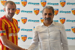 Oleksandr Kucher has extended his contract with Kayserispor