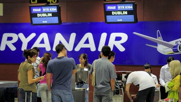 ВRyanair назвали дату первого полета с государства Украины