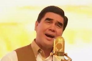 Видеопоздравление президента Туркменистана с весной взорвало сеть