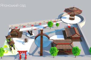 What will be the Pechersk landscape Park in Kiev: the Japanese garden, and the scene will get a roof
