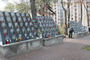 In the Alley of Heroes Heavenly Hundreds in Kiev will be equipped with a pedestrian zone