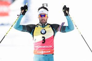 Первую гонку последнего этапа Кубка мира по биатлону выиграл Мартен Фуркад