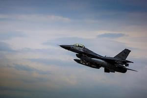 In Turkey, crashed military fighter