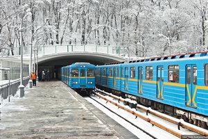 In the Kiev subway passenger fell on the rails