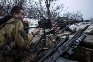 The truce thwarted militants shelled Avdiivka from mortars