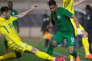 Украина - Саудовская Аравия 1:1 видео обзор матча