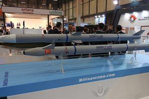 Турция впервые испытала свои баллистические ракеты