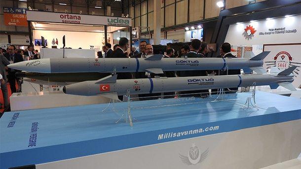 Турция удачно проверила баллистические ракеты собственной разработки