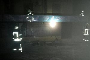 В центре Запорожья из-за пожара эвакуировали популярное заведение