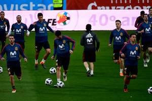 Где смотреть матч Испания - Аргентина