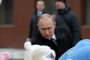 СК РФ назвал главную версию причины пожара в ТЦ в Кемерово