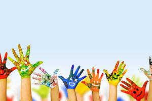 День смеха в детском саду: как сделать аквагрим
