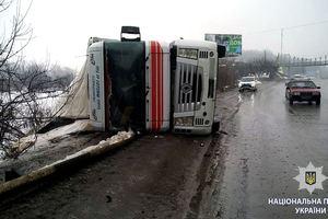 Под Харьковом в ДТП столкнулись сразу семь автомобилей