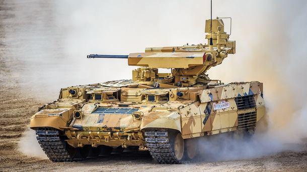 Торжественный расчет военного ведомства получит 10 БМПТ «Терминатор» на текущей неделе