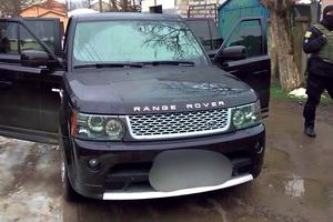 В Одессе у криминальных туристов на Range Rover нашли оружие, украденное у военных