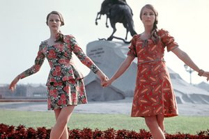 Наши люди в прошлом веке: ужасы советской моды - блузка из трусов и штаны из кастрюли