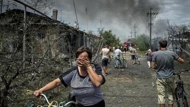 Российская агрессия на Донбассе. Фото: AFP