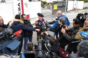 Во Франции задержали подозреваемого в попытке наезда на военных