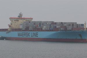 В Одесский порт зашел последний контейнеровоз Maersk