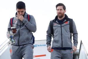"""Невероятная развязка в Севилье: Суарес и Месси спасли """"Барселону"""" за две минуты до свистка"""