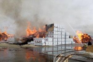 В России вспыхнул еще один крупный пожар: появилось видео
