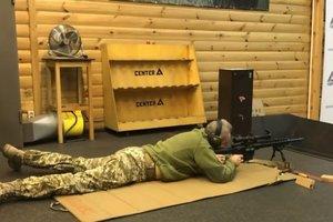 Муженко опробовал новую украинскую снайперскую винтовку: появилось видео